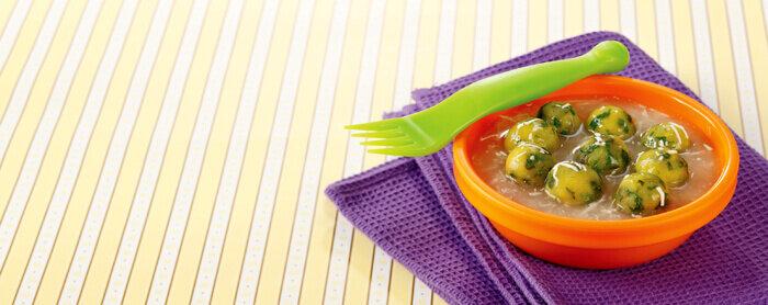 Sup Krim Bola Ayam