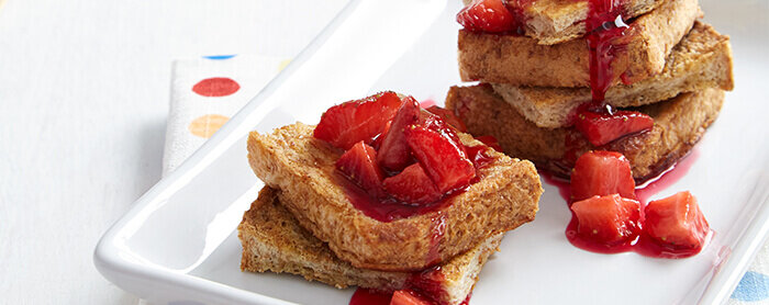 Red Berry French Toast
